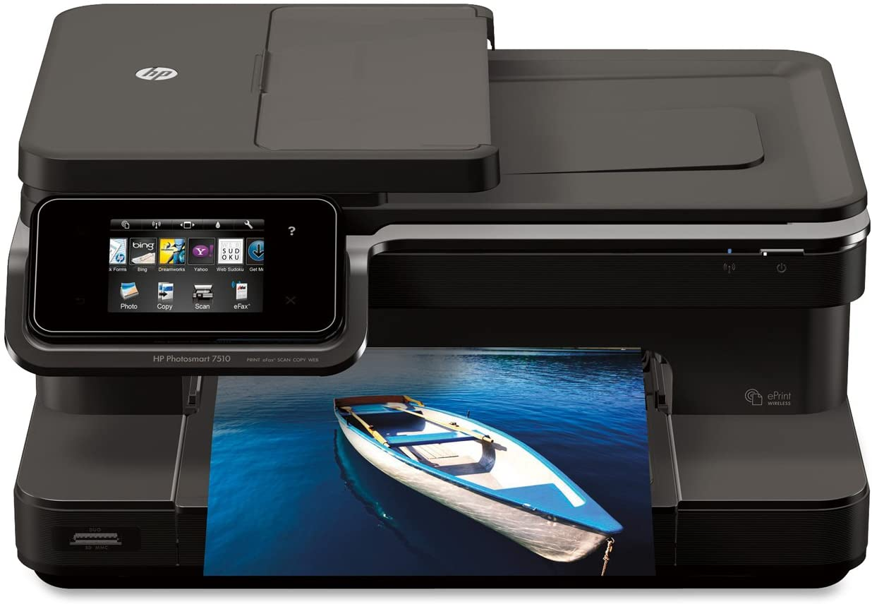 HP OfficeJet 7510 Wide Format All-in-One Photo Printer with Wireless & Mobile Printing - Refurbished